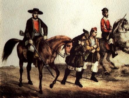 La cavalleria miliziana
